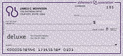 Alzheimer's Association Check